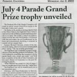 piedmont trophy